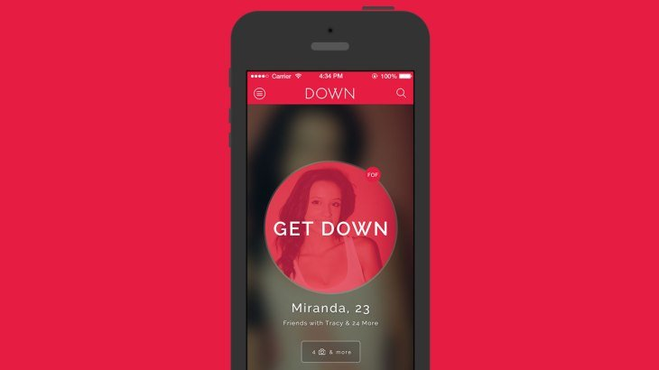 Down iPhone Mockup