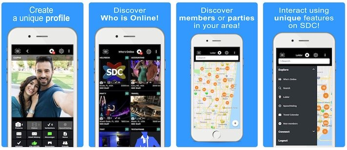 sdc official swingers app